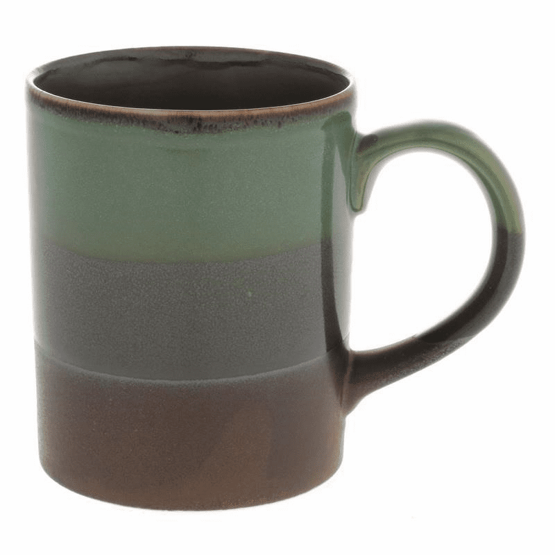 Jade Green Granite Mug, 11 oz.