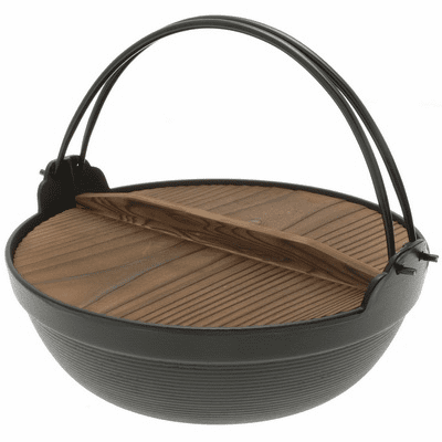 "Japanese Cast Iron Pot/Japanese Hot<br> Pot Made by Iwachu 6-1/4"", 7"", 8-1/4"" or 9-1/2"""