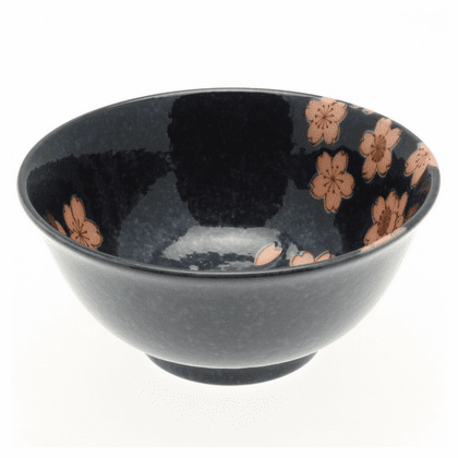 Japanese Moonlit Sakura Bowl 6""