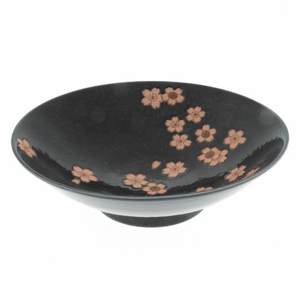 Japanese Moonlit Sakura Bowl  9-3/4""