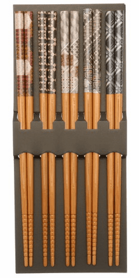 Japanese Parquetry Chopstick Set