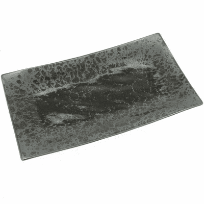 Japanese Silver Blue Granite <br>Rectangular Plate
