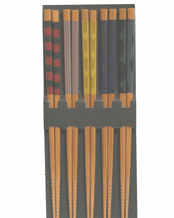 Lines and Squiggles Chopstick Set