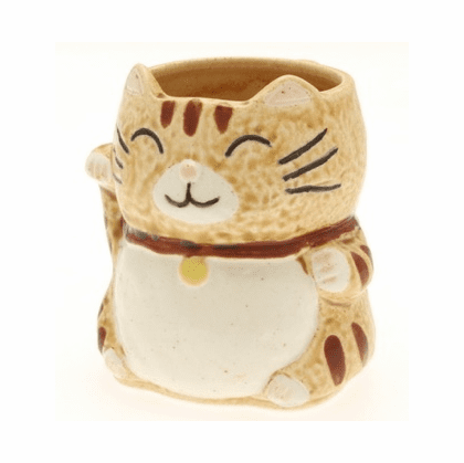 Lucky Caramel Color Tabby Cat Mug