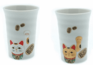 Lucky Kitty Cup, 8 oz.