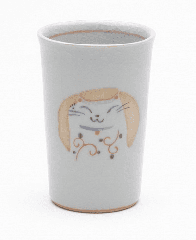 Lucky Red Cat Cup, 6 oz.