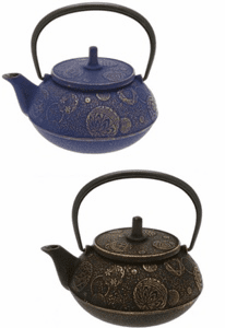 Mari Cast Iron Tea Pot Series