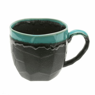 Mug Craft Rock Jade Ocean Black, 11 oz.