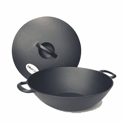 Multi-Purpose Cast Iron Pans with Lid by Iwachu