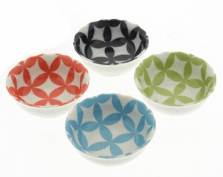Multi-Seven Jewles Sauce Dishes Set