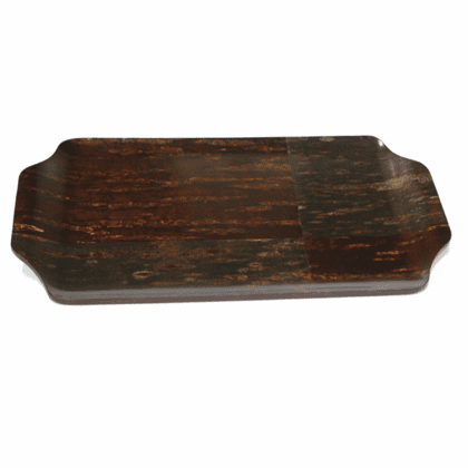 "Natural Cherry Bark Rectangular  <br>Serving Tray, 20-7/8"" x 11-1/8"""