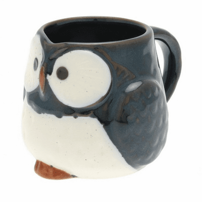 Night Sky Owl Mug, 9 oz.