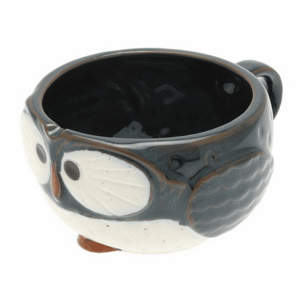 Night Sky Owl Soup Mug, 12 oz.