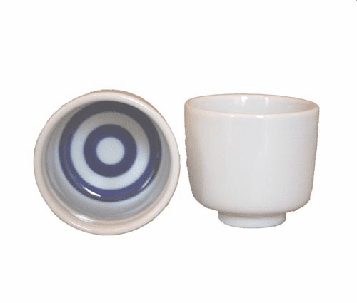 Official Sake Tasting Cup Set of Two  <br>1 Go Kikichoko