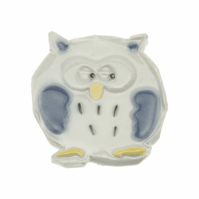 Owl Ceramic Chopstick Rest