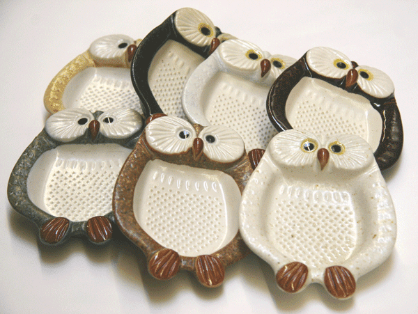 Owl Graters Available in 7 Different<br> Colors
