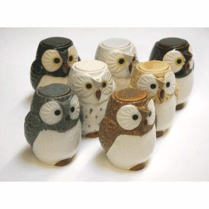 Owl Sauce Dispensers/Creamers
