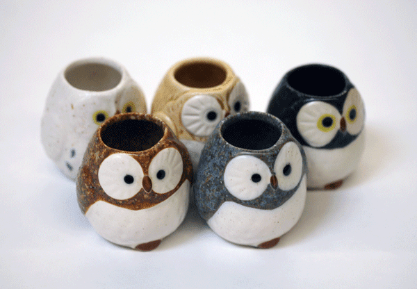 Owl Toothpick Holders