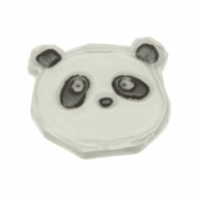 Panda Bear Ceramic Chopstick Rest