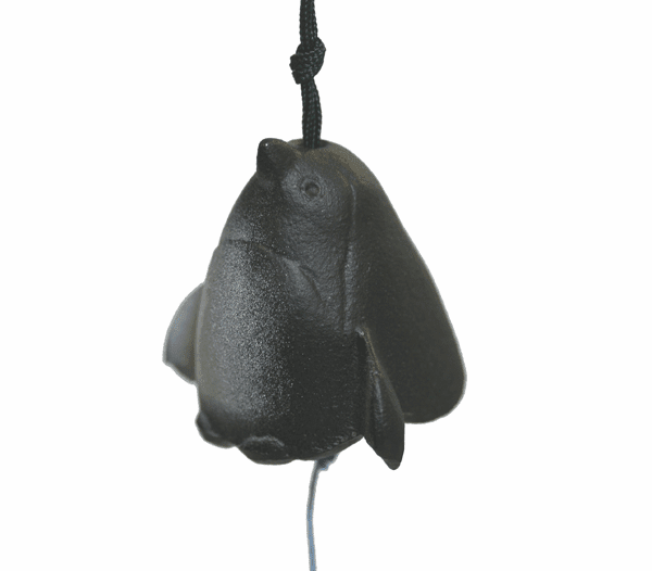 Penguin Cast Iron Wind Chime