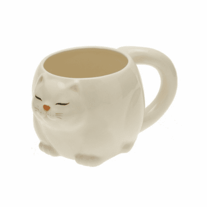 Persian White Cat Mug
