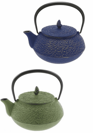 Pine Needle Cast Iron Teapot Series
