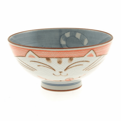 Pink Kitty Ceramic Bowl