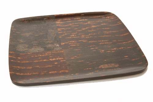 Polished Natural Cherry Bark Tray,  <br>12-1/2""