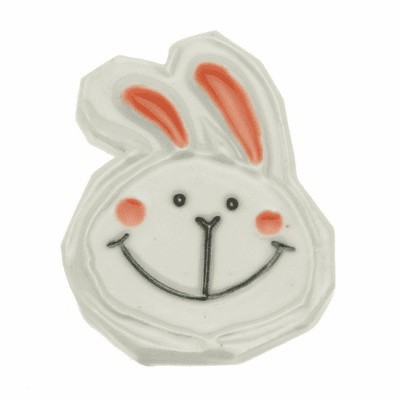 Rabbit Ceramic Chopstick Rest