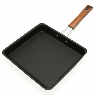 Rectangular Frying Pan for Large Tamagoyaki