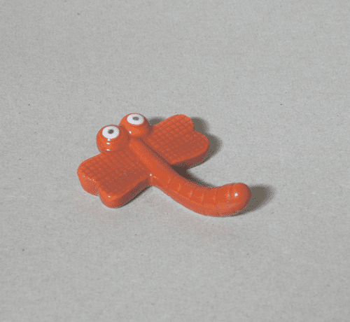 Red Dragonfly Chopstick Rest