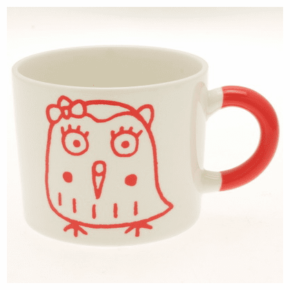 Red Owl Mug, 12 oz.