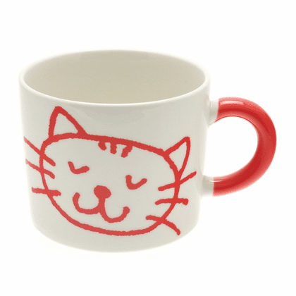 Red Tabby Cat Mug, 12 oz.