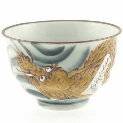 Rising Dragon in the Sky Bowl, 4-3/4""
