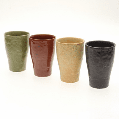 Rock Tumbler Amazonia Cups for Four