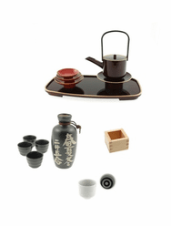 Sake Containers & Cup Sets