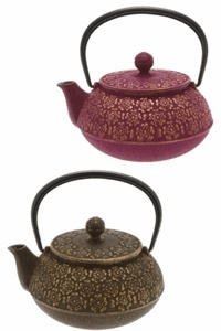 Sakura Cast Iron Teapot Series