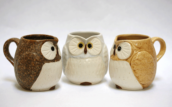 Seven Different Colors Owl Cremers