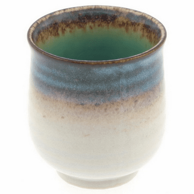 Shirokinyou Hisui Tea Cup, 8 oz.