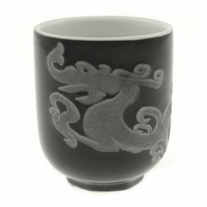 Silver Dragon Tea Sushi Cup, 8 oz.