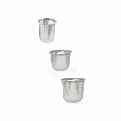 """Stainless Steel Infuser<br> Basket, 2-3/16"""", 2-3/8"""" or 2-1/2"""""""