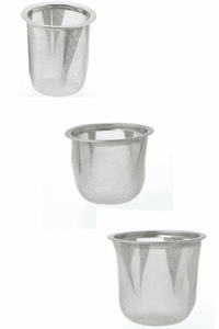"Stainless Steel Infuser<br> Basket, 2-3/16"", 2-3/8"" or 2-1/2"""
