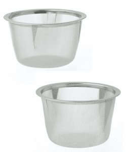 "Stainless Steel Infuser<br> Basket, 3-1/8"" or 3-3/8"""