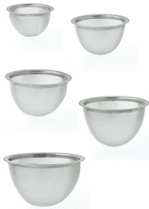"Stainless Steel Infuser Baskets, <br>2-1/2"", 2-3/4"", 2-7/8"" or 3-1/8"""