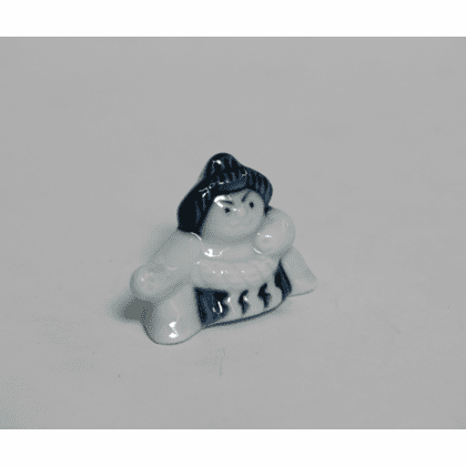 Sumo Champion Ceramic Chopstick Rest