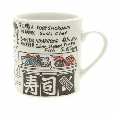 Sushi Chief Talk Mug, 10 oz.