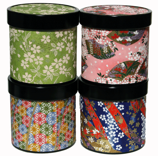 Tea Canister, Each Holds 150 Grams