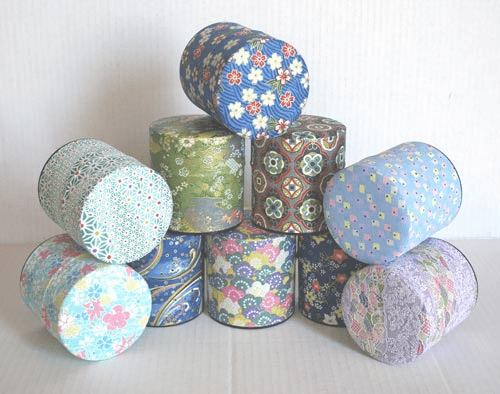 Tea Canisters, Each Holds 100 Grams