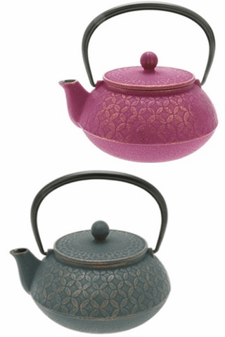 Tessellation Cast Iron Teapot Series