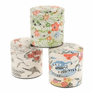 Three Avia Seasons Tea Canisters Set, Holds 100 Grams